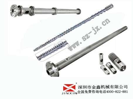 高壓注塑機螺桿料管-螺桿頭-哥林柱-金鑫做工精良