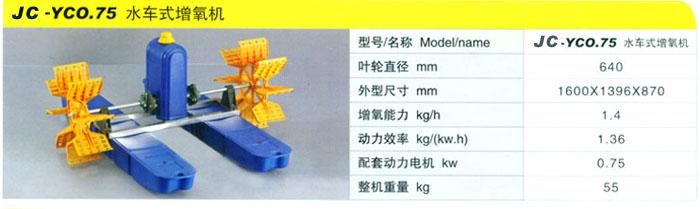 厂家直销新款国标100%铜线鱼塘两叶轮四叶轮水车式增氧机
