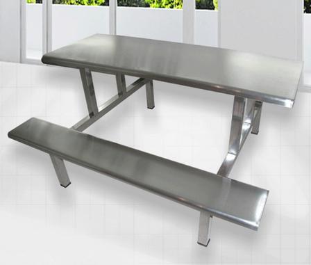 东莞学生不锈钢餐桌椅东莞康胜餐桌厂这一扔非常有技巧家热销 不锈不过钢餐桌椅定制