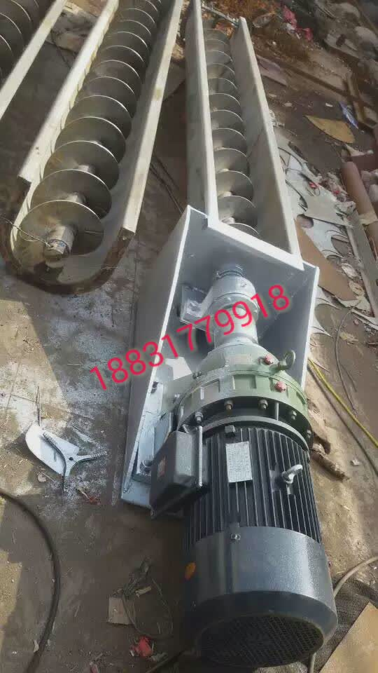 不锈钢螺旋输送机安装图片,螺旋输送机报价