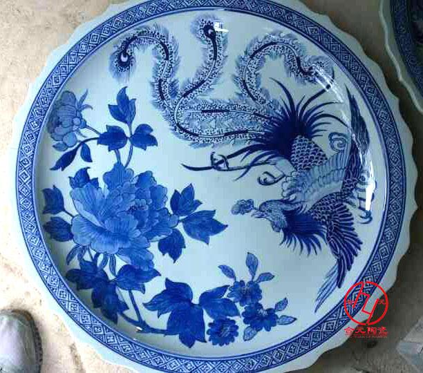 海鲜大瓷盘