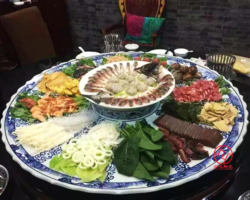 景德镇海鲜大瓷盘