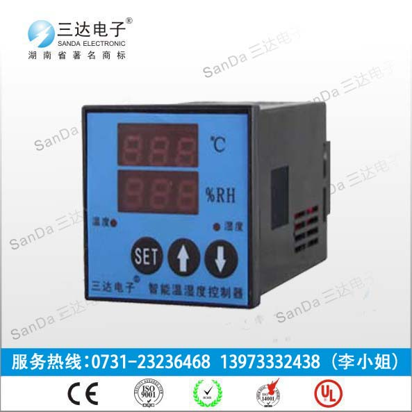 AWS-1S1J-2ijl全新上市-三达智能数显温湿度控制器