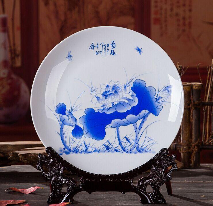 春节礼品陶瓷纪念盘