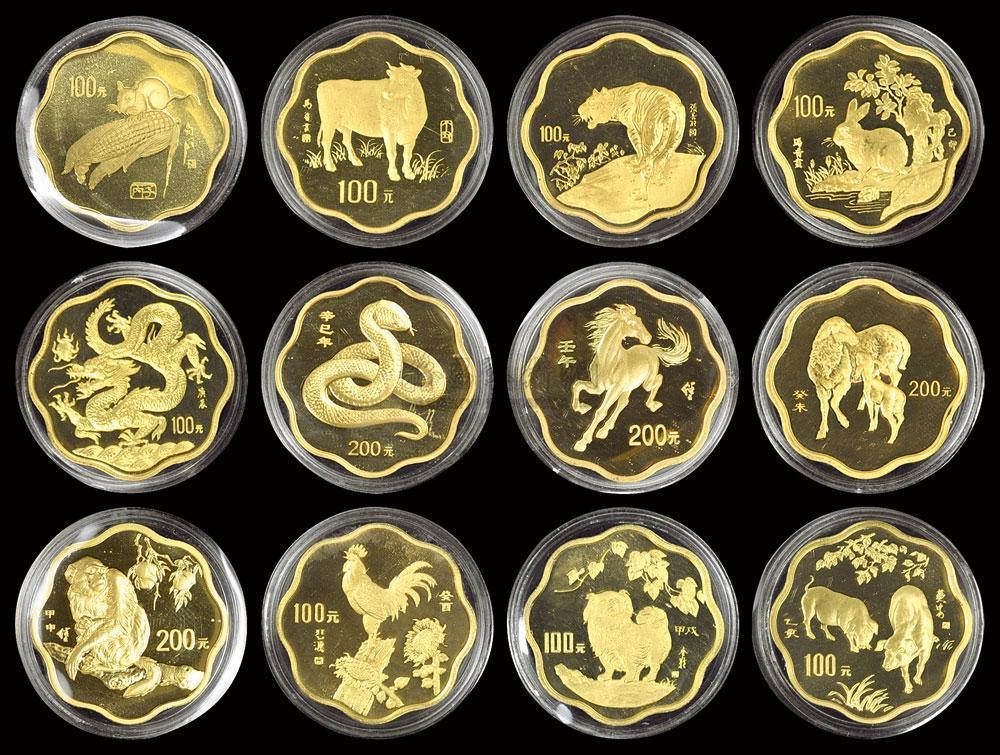 1982年熊貓金幣套裝今日收藏價格行情
