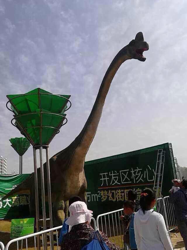 恐龙全国巡游展览 会动会叫可定制