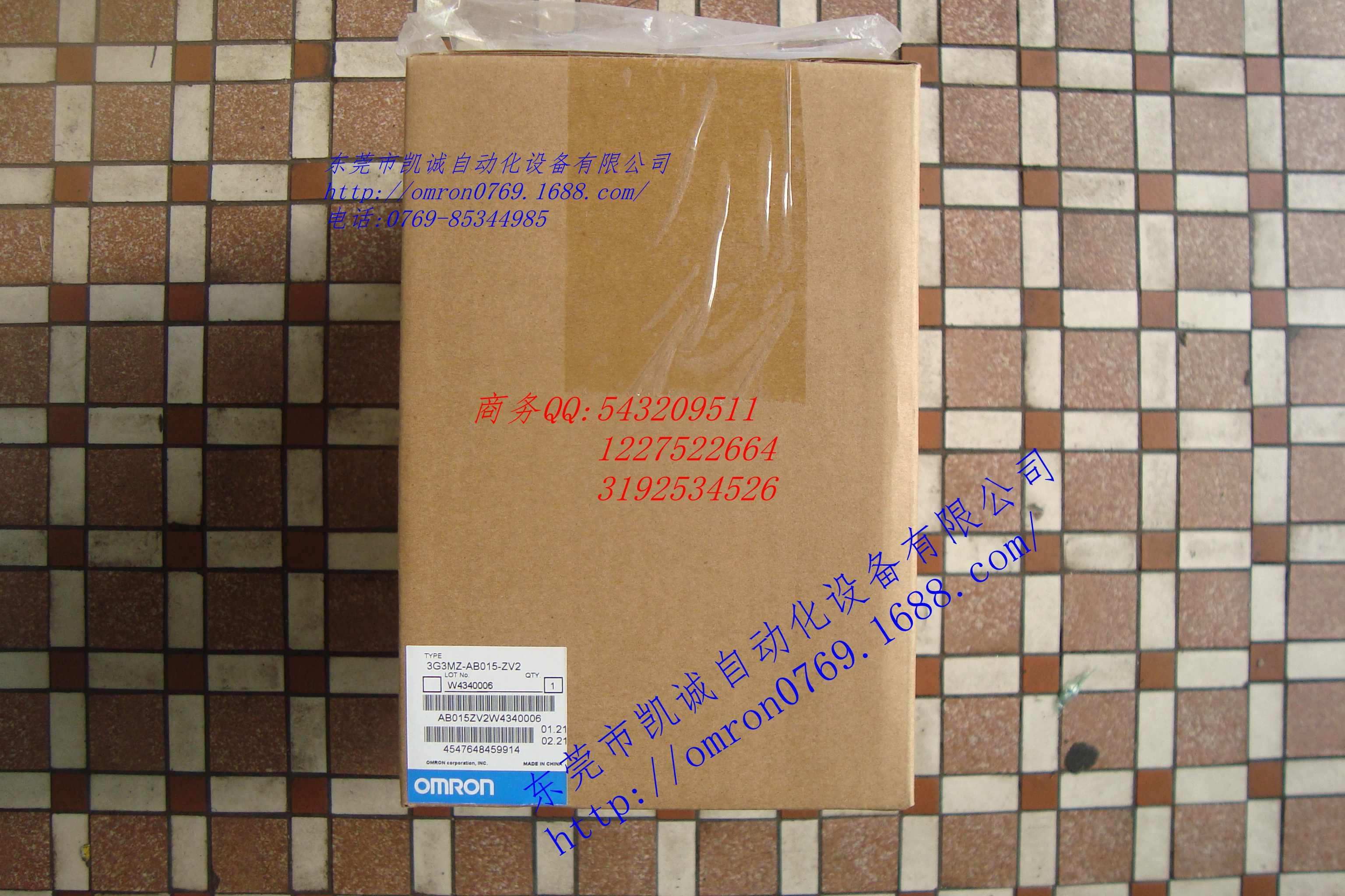 3G3MZ-AB007-ZV2 3G3MZ-AB015-ZV2欧姆龙正品