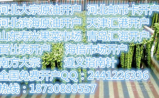 榆林能源化工产品开户