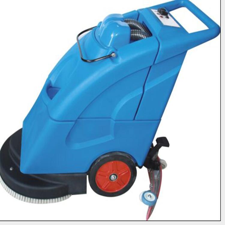 批发工业全自动洗地机骏威电瓶式全自动洗地机高压清洗机