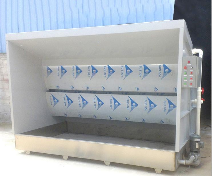 【讯达新品】无泵水帘喷漆台 普通水帘柜