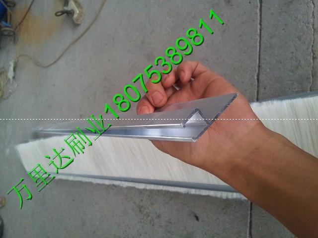 尼龙丝条刷_不锈钢丝条刷_尼龙丝条形毛刷_密封除尘条刷