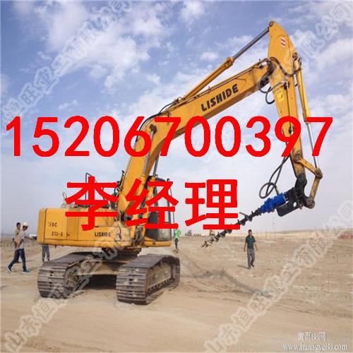 履帶式螺旋打樁機 專業的打樁機廠家 螺旋打樁機價格
