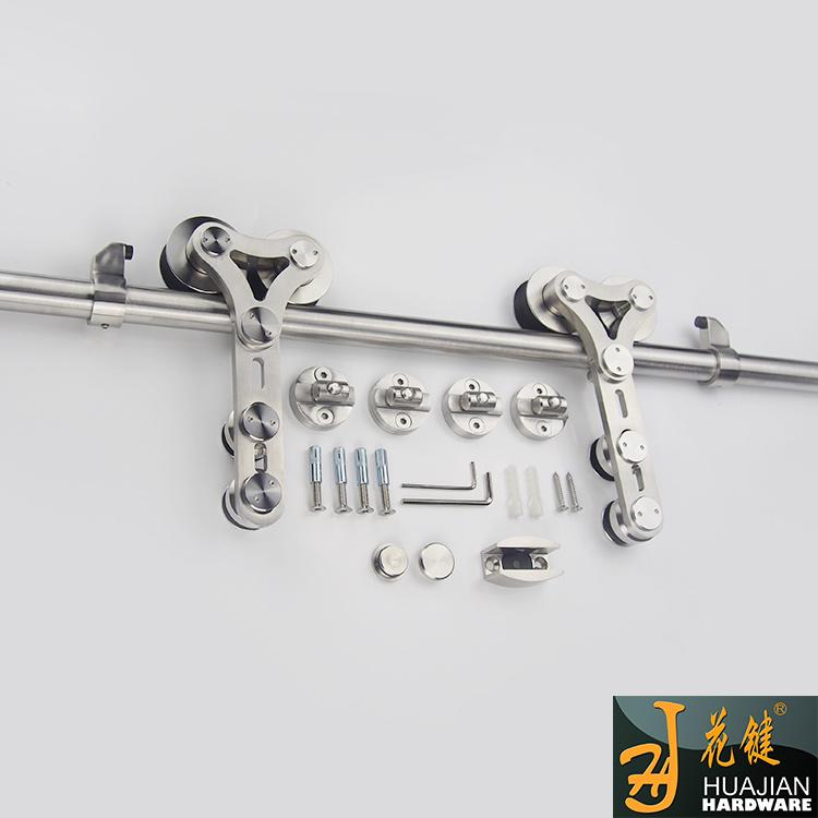 重型玻璃移門滑輪不銹鋼靜音順暢01A-C雙滑動滑輪吊輪