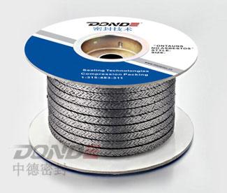 ZD-P1702鎳絲增強石棉橡膠盤根