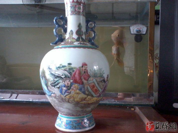 收購上海舊花瓶蓋碗,上海舊瓷器火缸回收價格