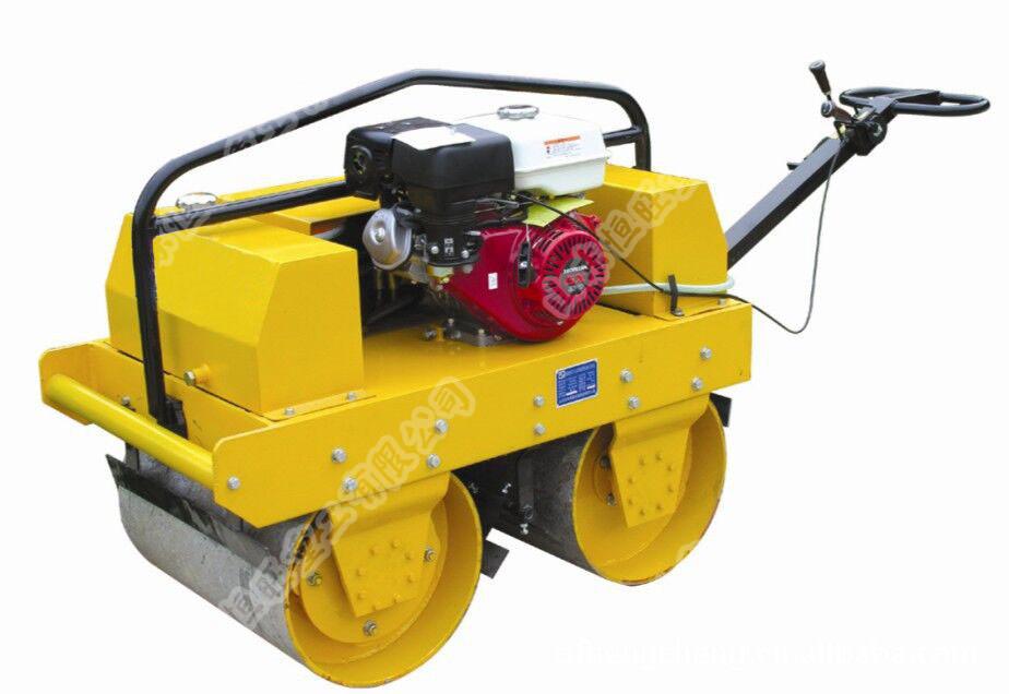 HW-600B手扶式雙輪汽油壓路機價格 壓路機參數 壓路機圖片
