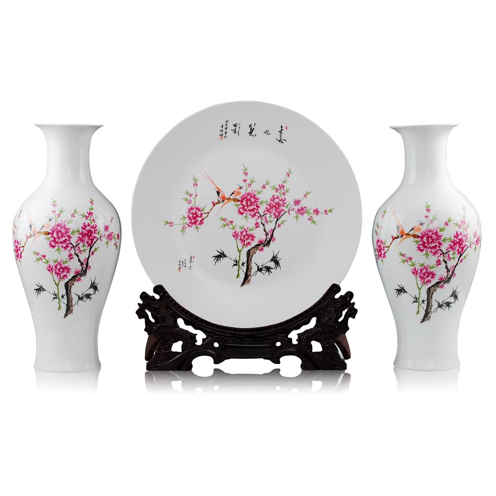 酒店装饰陶瓷花瓶摆件