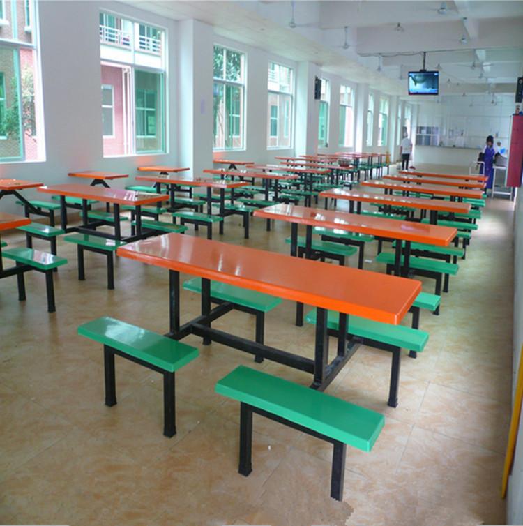 康胜畅销/工厂饭堂餐桌椅/工厂食堂餐桌椅/员工食堂餐桌椅