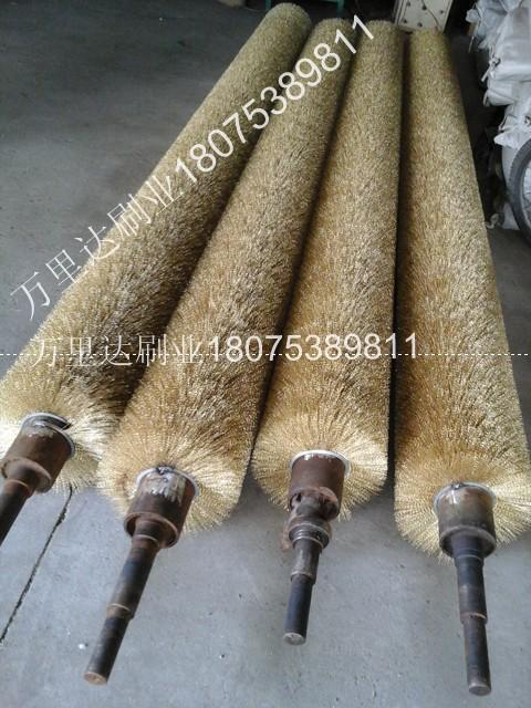 木地板抛光机钢丝辊|镀锌板去毛刺钢丝辊|钢丝辊刷