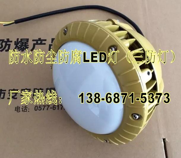 三防LED灯40W IP65-壁式30°弯杆式-FAD-E40b1 1*40W防水防尘防腐灯