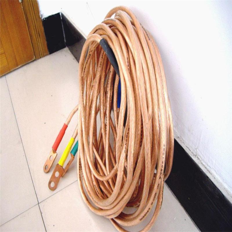 鑫宇10KV高压接地线接地棒铜线配电房接地线夹25平方铜线软铜线