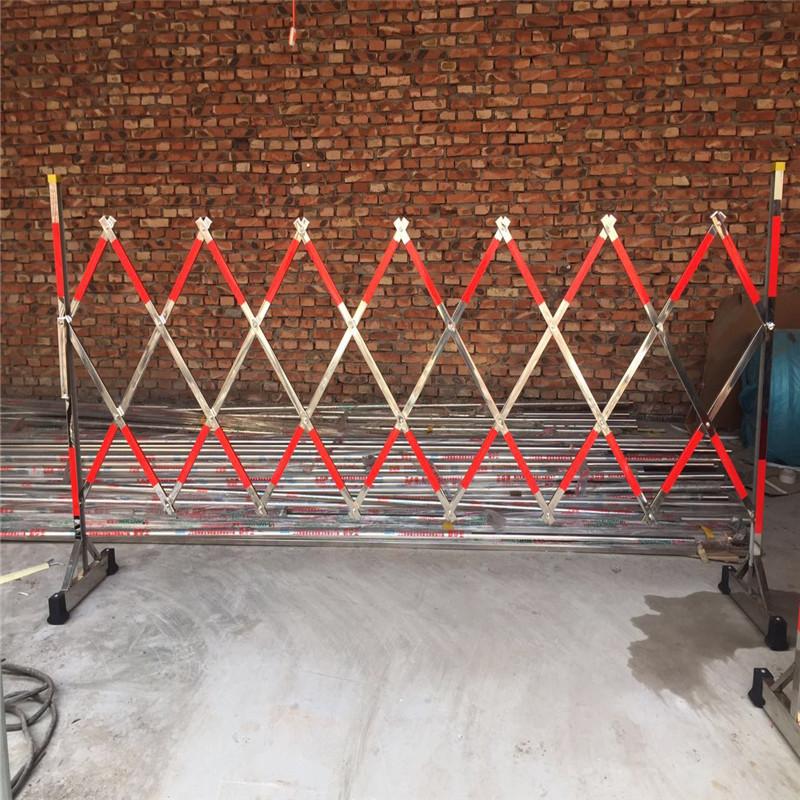 鑫宇可移动式玻璃钢片式围栏电力施工伸缩围栏安全绝缘隔离围栏防护栏