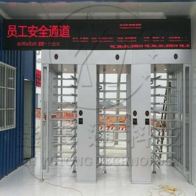 工厂景区专用二维码扫描全高闸,深圳全高转闸门厂家