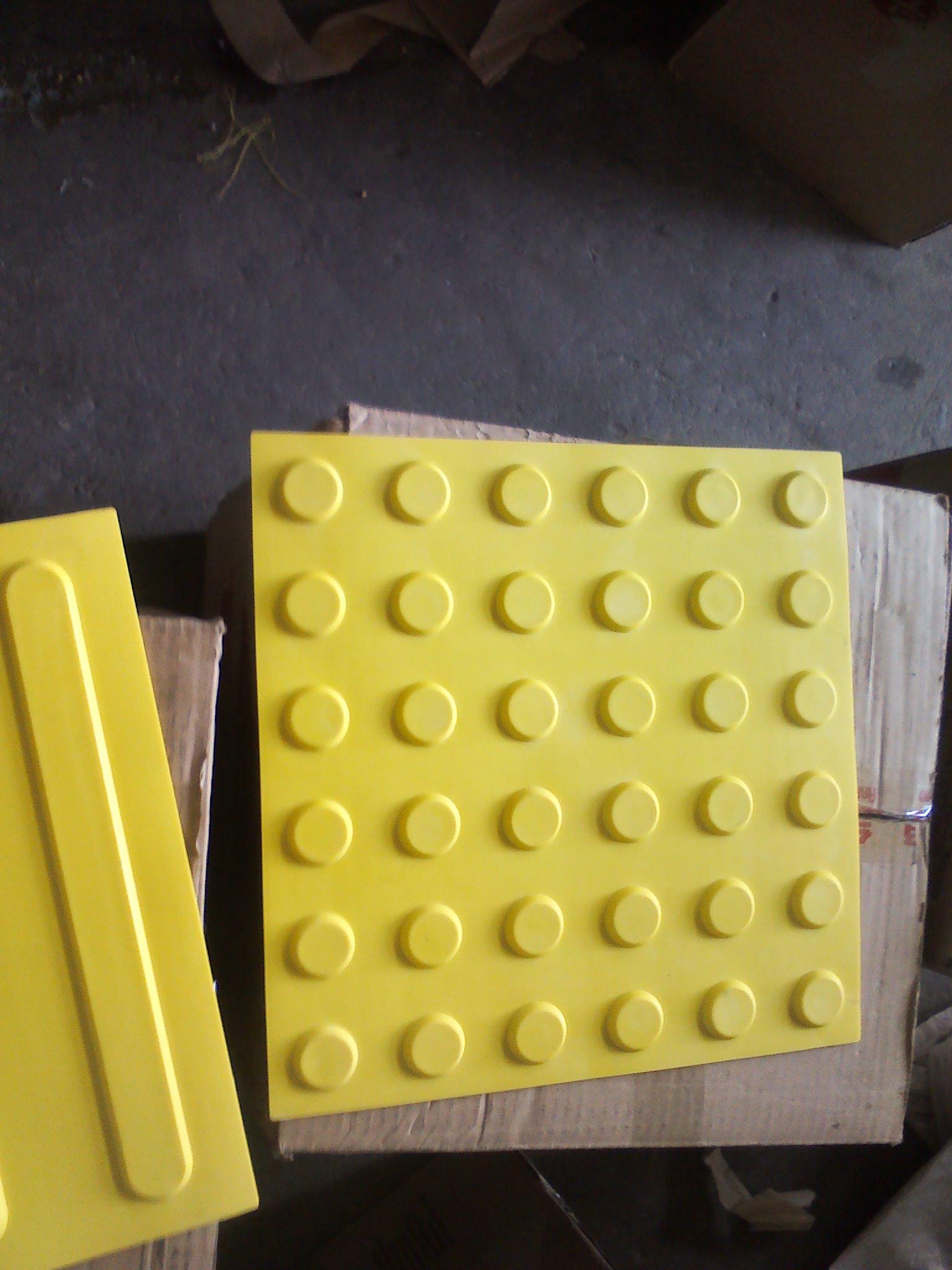 橡胶盲道砖卖多少钱一片南宁盲道砖款式