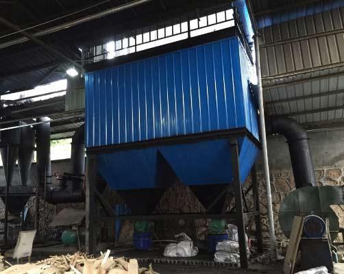 2吨锅炉布袋除尘器高