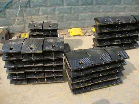 苏州铸钢减速板、减速带生产直销常用规格
