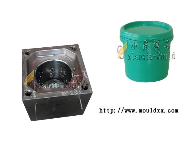 台州专做注射13公斤涂料桶模具 注射14公斤涂料桶模具多少钱