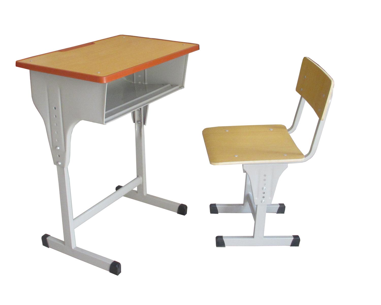 特价批发初中生钢木学生桌椅优质课桌