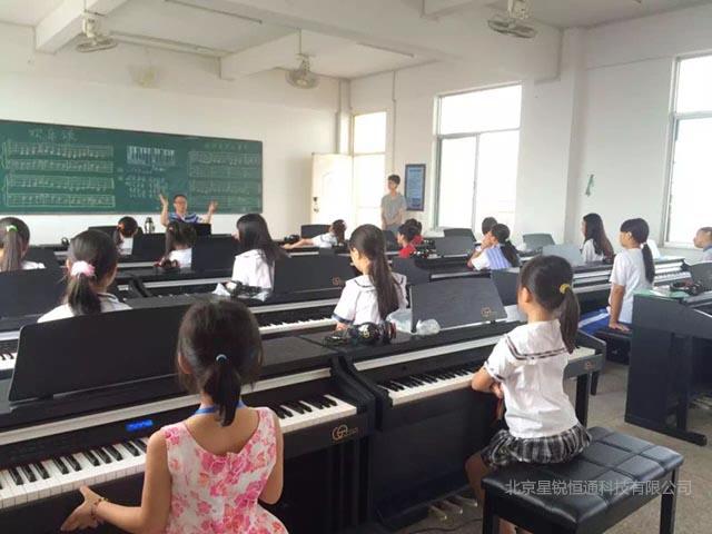 智能电钢琴教学设备软件北京星锐恒通
