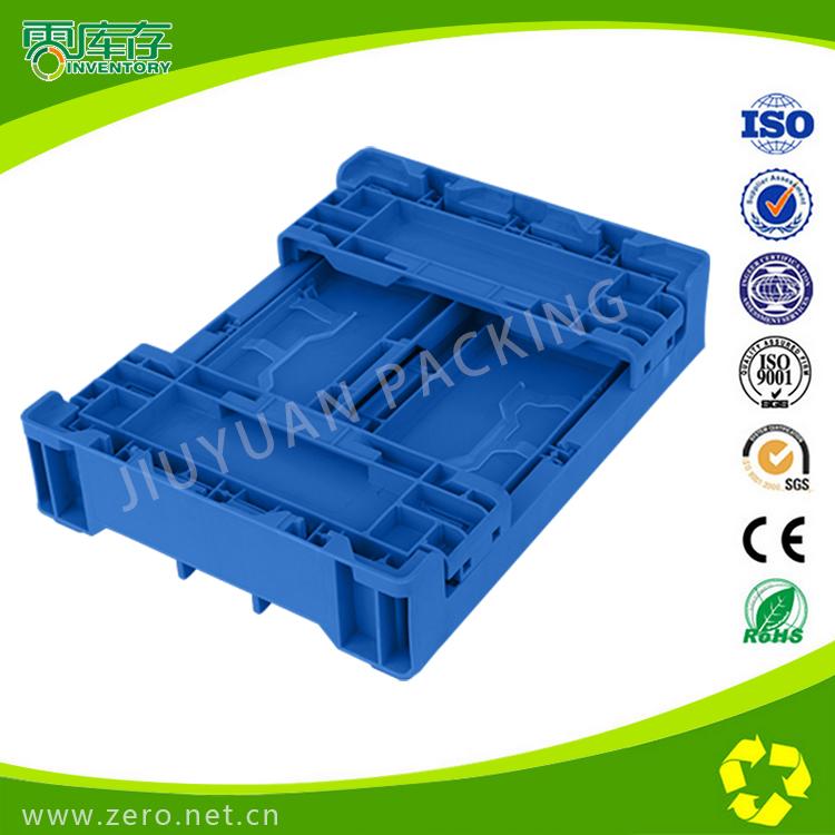 供应塑料折叠S602 日丰专用标准周转箱