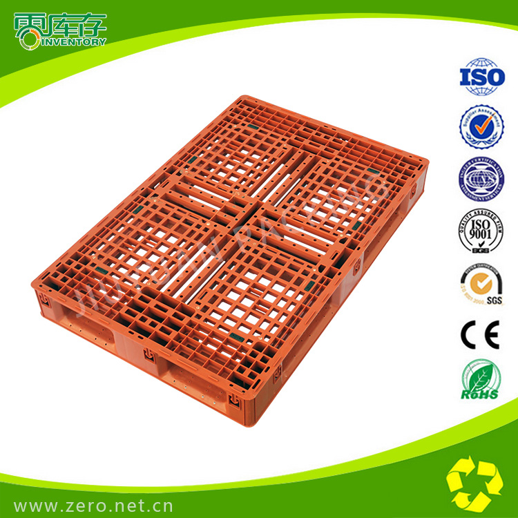 生产塑料标准栈板T1208 高强度塑胶托盘