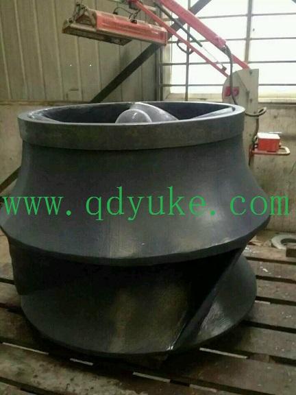 脫硫泵磨損維修漿液泵修復