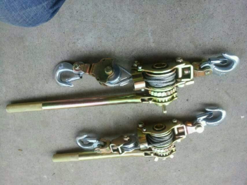 供应棘轮牵引器,曲式紧线器,手动紧线器