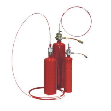 陕西机电柜火探管灭火、探火管自动灭火装置