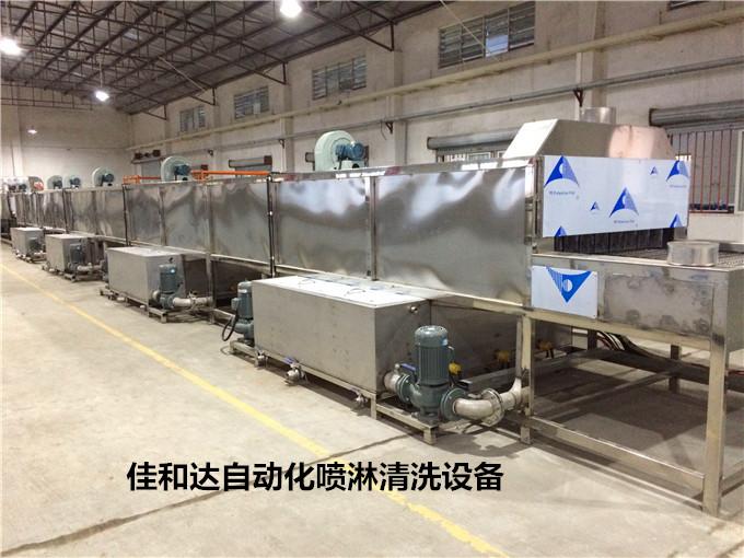 自动通过式高压喷淋清洗机厂家直销 高压水流清洗设备