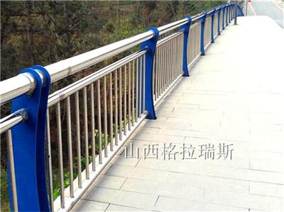 山西桥梁护栏生产厂家供应不锈钢桥梁护栏景区河道护栏