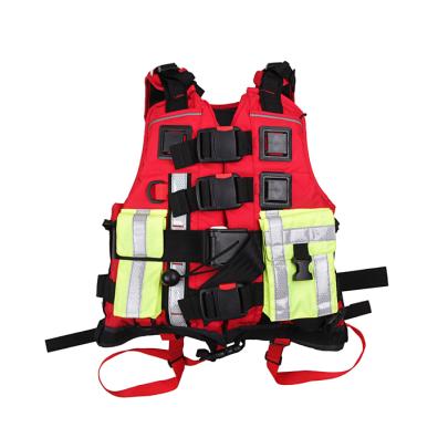 防汛救援专用救生衣 带PFD装置救生背心 皮划艇激流漂流救生马甲