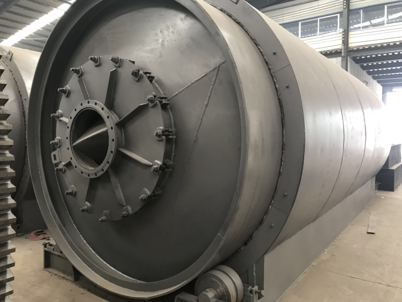廢輪胎廢橡膠裂解煉油機械設備