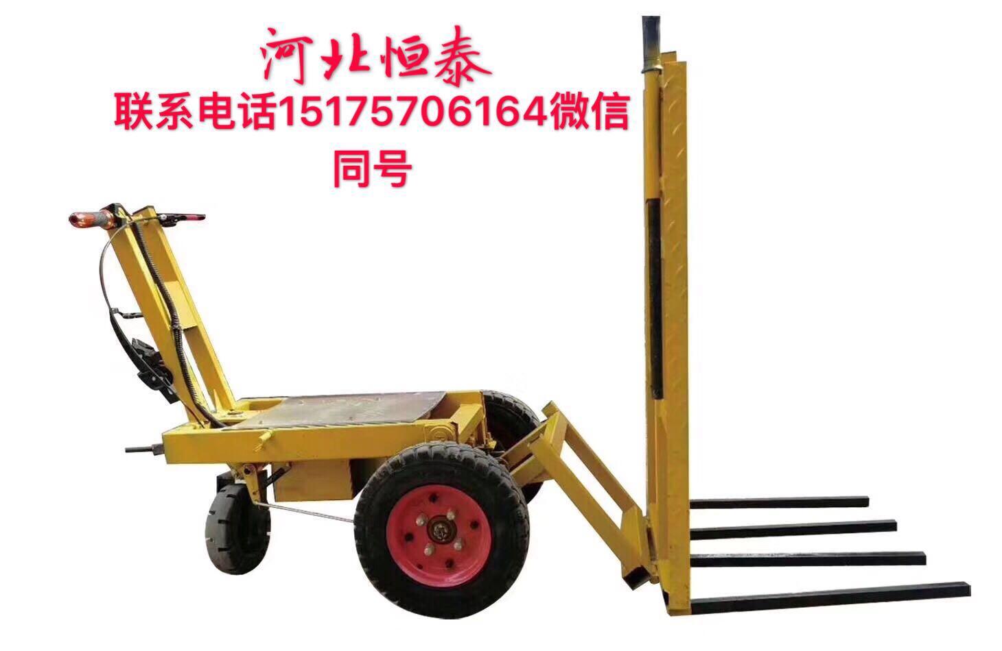 河北厂家生产小猛牛800w电动灰斗车 多工能 价格低可自卸 可拆卸