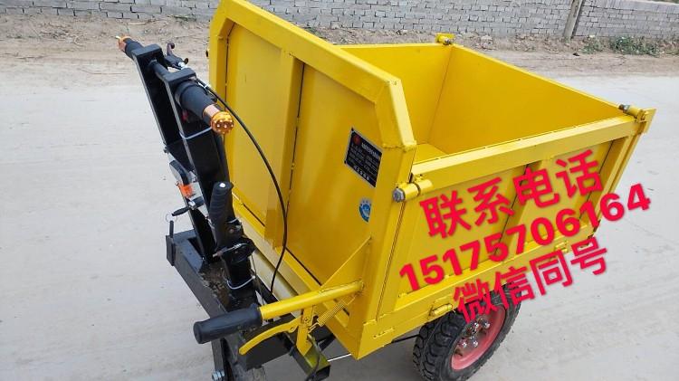 河北生產工地運輸神器小猛牛電動灰斗車800w價格低