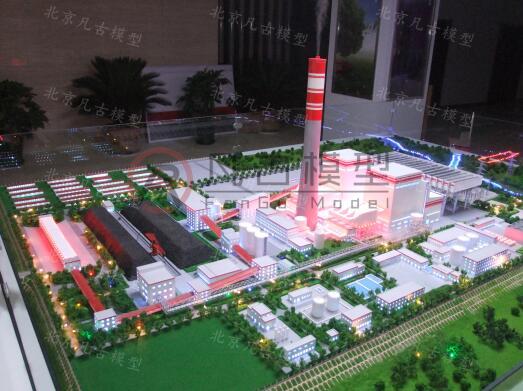 绿色能源火力发电模型