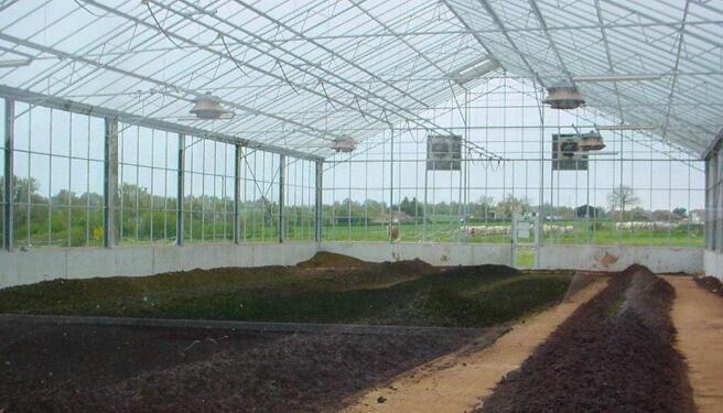 煜林枫太阳能污泥干化处理温室