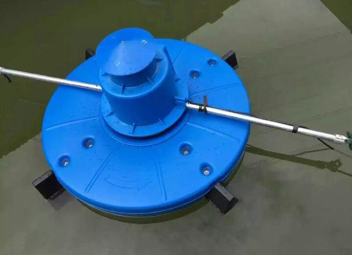 卷浪式曝气增氧机涌浪扬水式增氧机造浪式叶轮增氧机