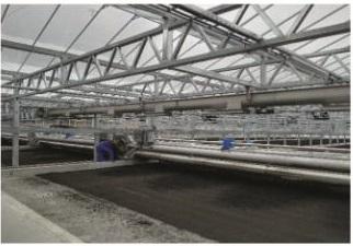 煜林枫太阳能污泥烘干系统温室节能环保高效