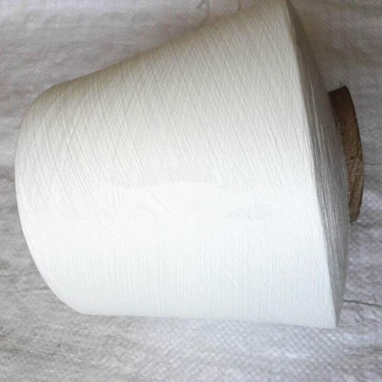 环锭纺涤棉针织纱16支挑三丝涤棉纱现货21支32支