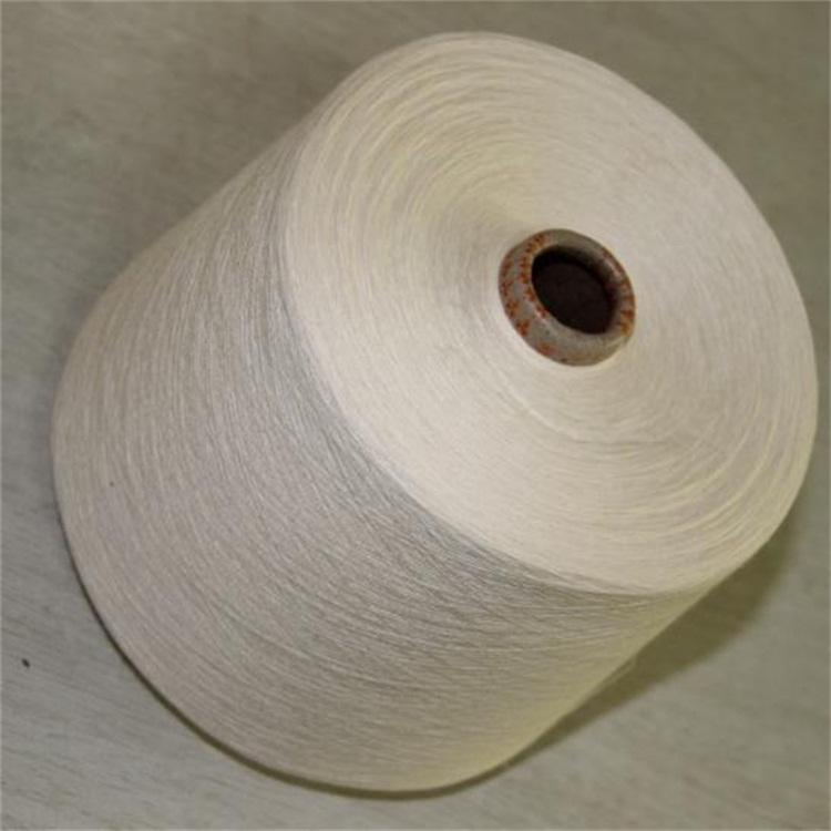 针织涤棉竹节纱21支涤棉竹节纱厂家现货26支环锭纺那个涤棉竹节纱32支